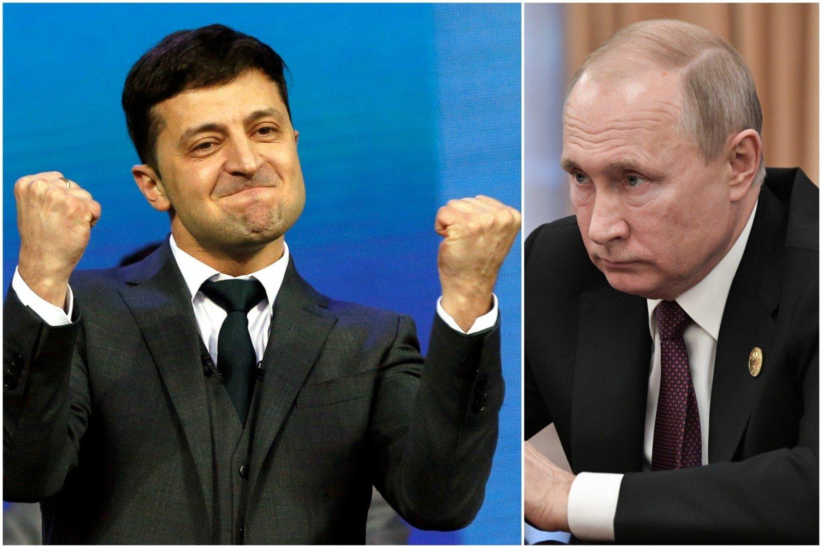 Зеленский не воюет с Путиным и ждет, когда тот  в ответ перестанет воева...