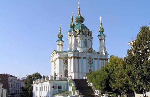 В Киеве ограбили Андреевскую церковь