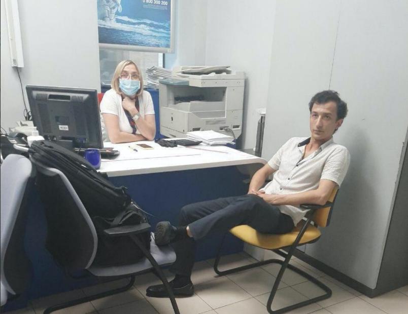 Злоумышленник, захвативший отделение банка в Киеве – гражданин Узбекиста...