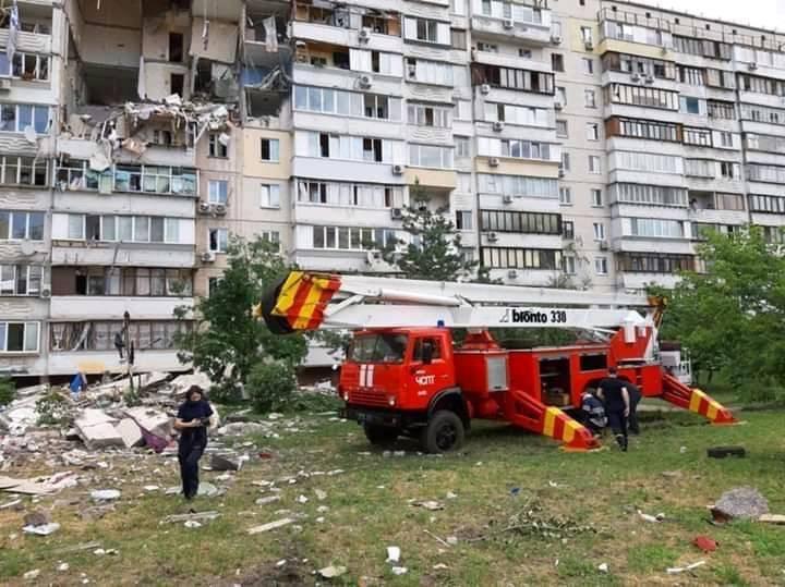 Взрыв на Позняках: в газораспределительной компании проходят обыски