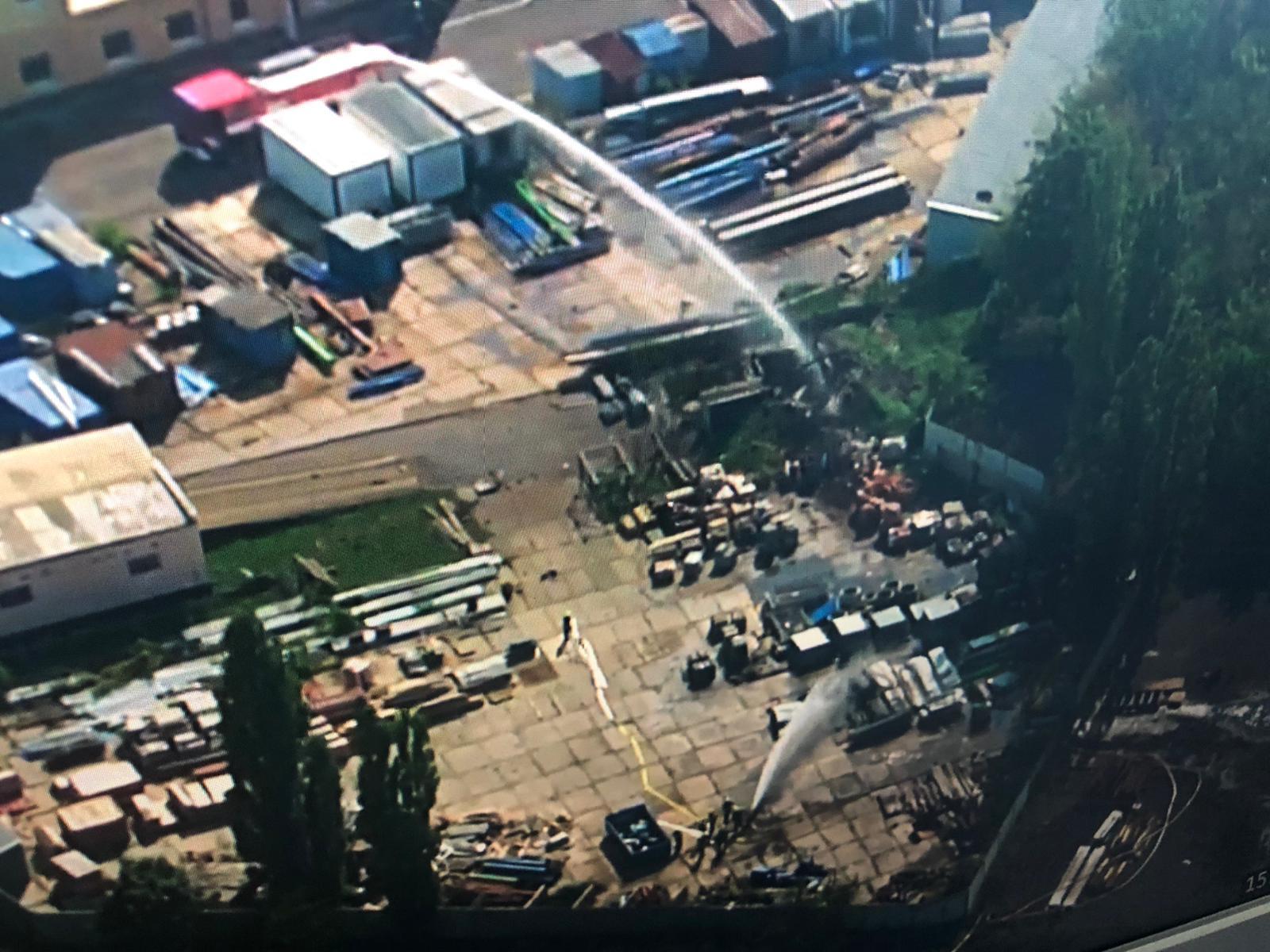 В Чехии горит склад с боеприпасами, район поблизости эвакуируют