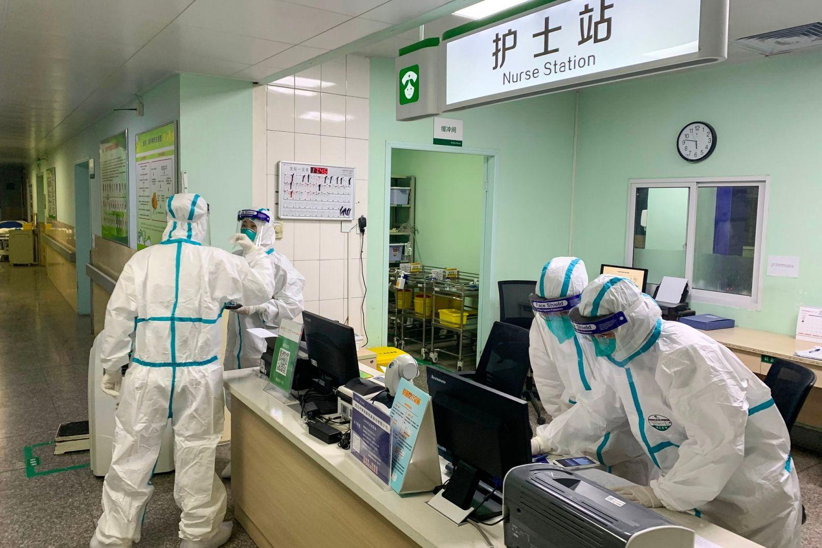В Ухане за 10 дней построили больницу для зараженных коронавирусом