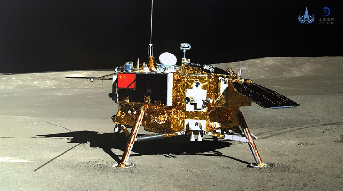 Перешел на темную сторону. Китайский зонд Chang'e-4 изучает обратную сто...