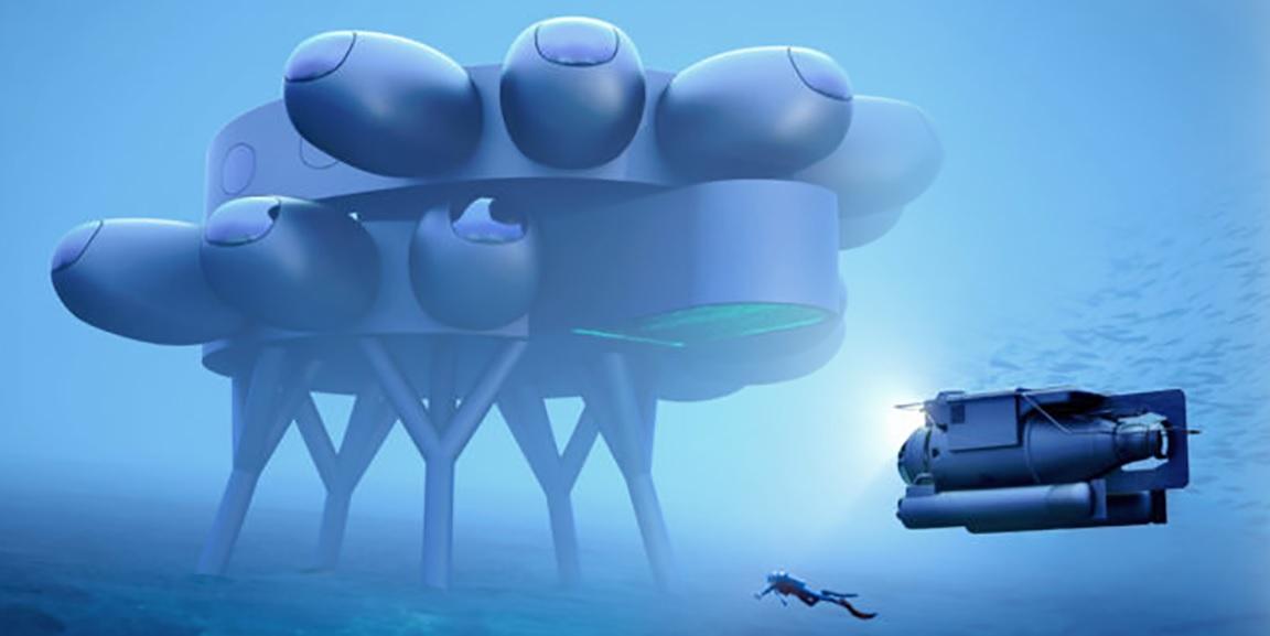 Подводная МКС. Внук Кусто собирается построить жилую лабораторию на морс...