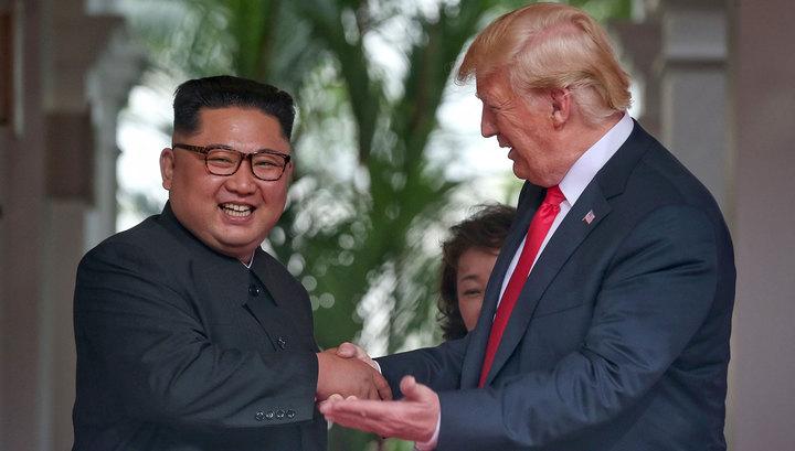 Дональд Трамп и Ким Чен Ын встретились в Ханое