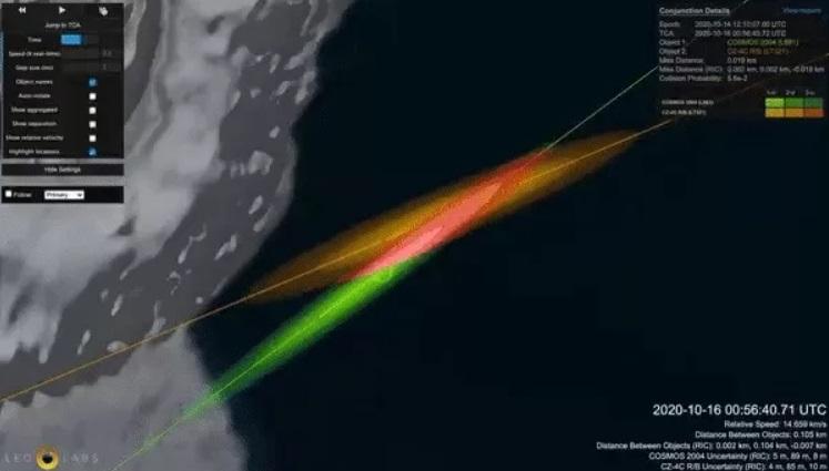 Над Землей могут столкнуться 2800 кг космического мусора на скорости 52...