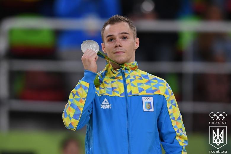 "Украинский гимнаст выиграл ""серебро"" на Олимпиаде"