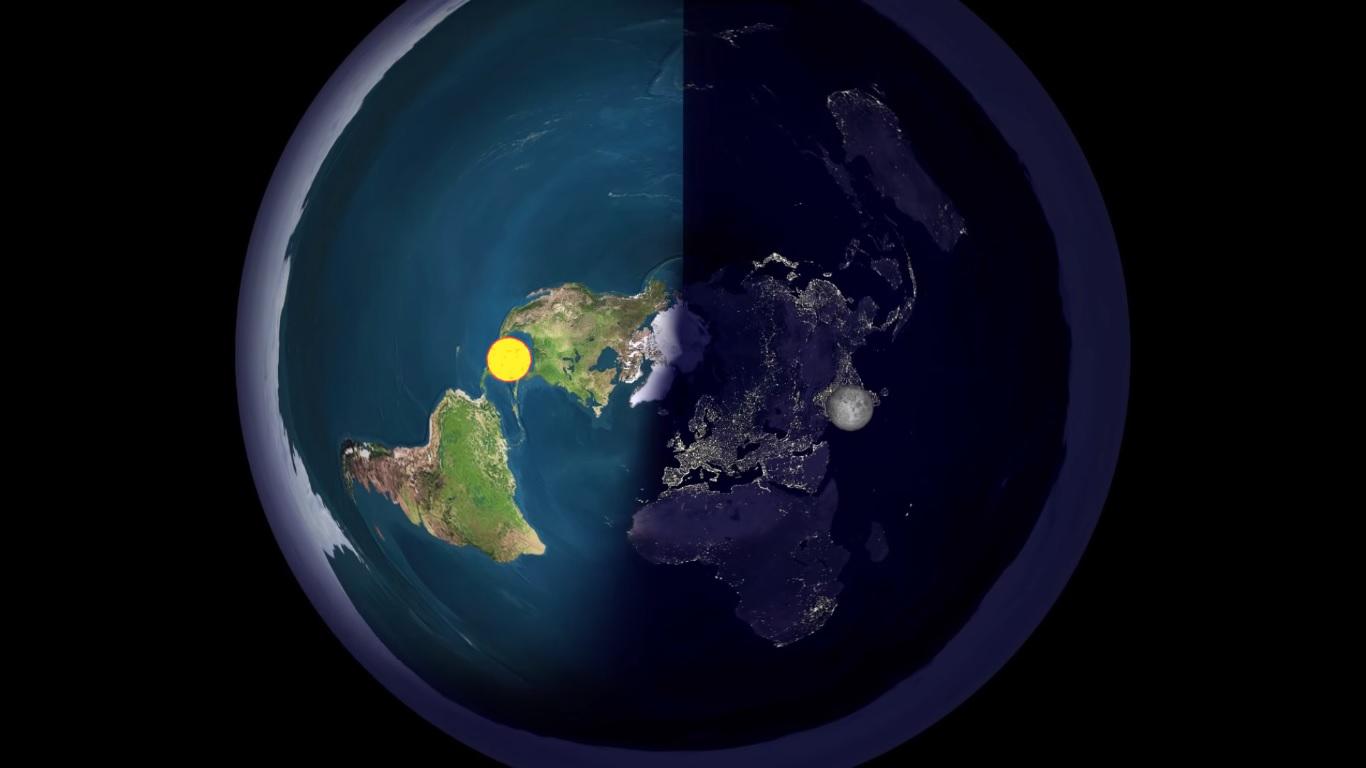 Плоская шутка. Как в XXI  веке конспирологи пытаются доказать, что Земля...