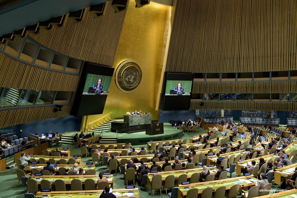 """Генассамблея ООН приняла новую """"крымскую"""" резолюцию"""