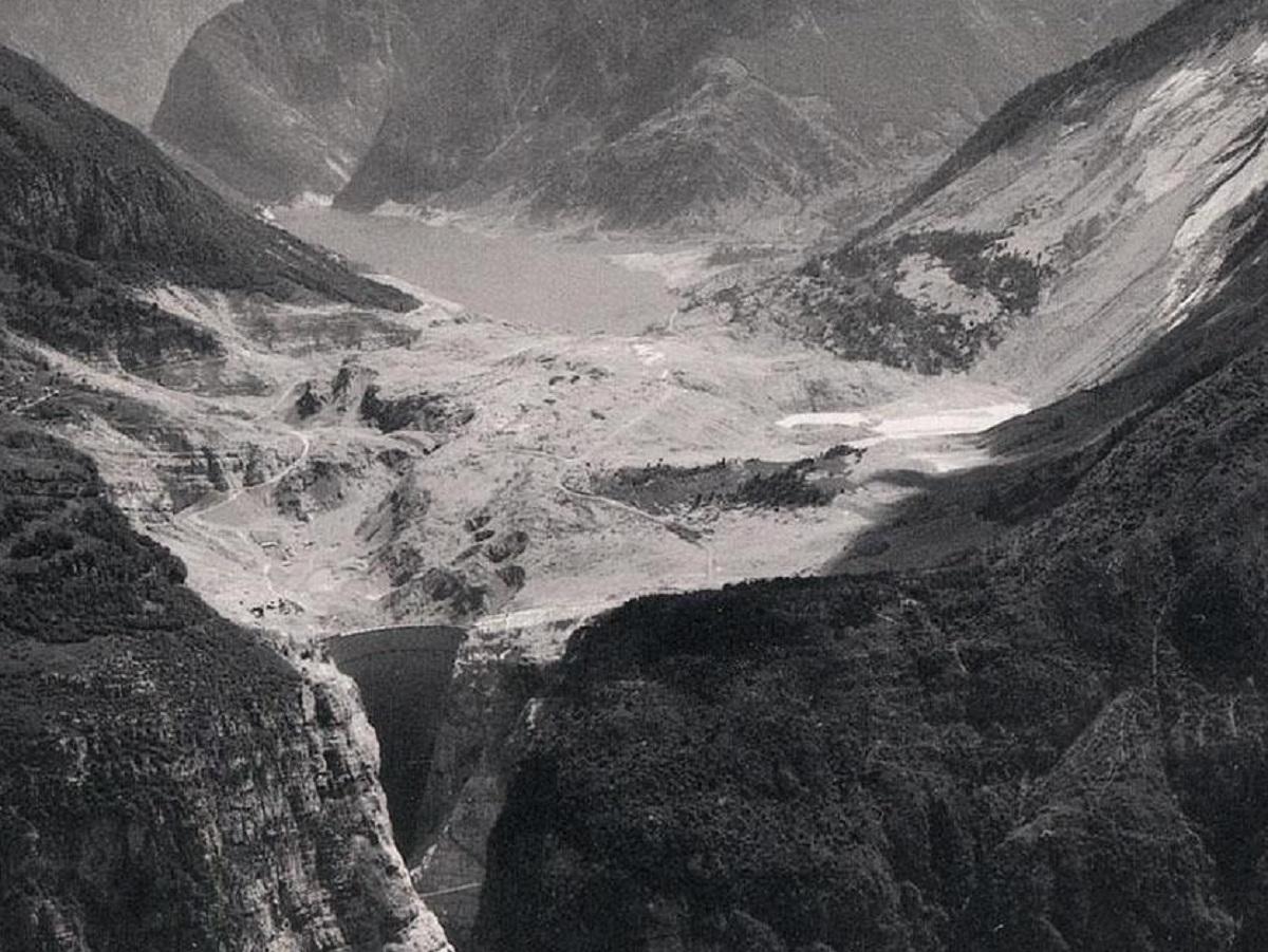 плотина Вайонт, авария на плотине, наводнение