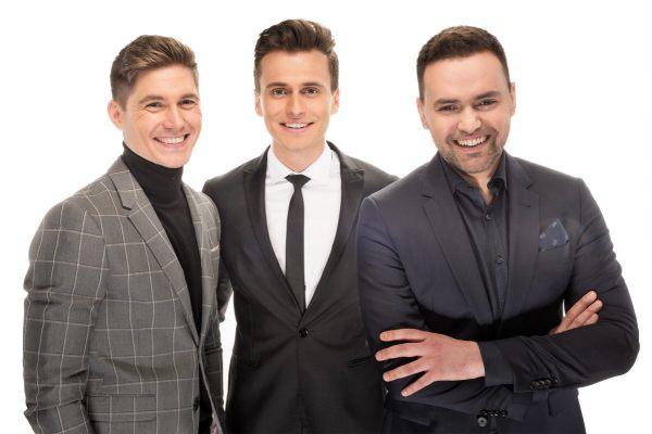 Впервые ведущими Евровидения будут трое мужчин
