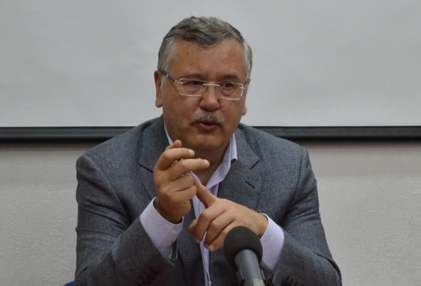 """Гриценко представил первую десятку """"Гражданской позиции"""""""