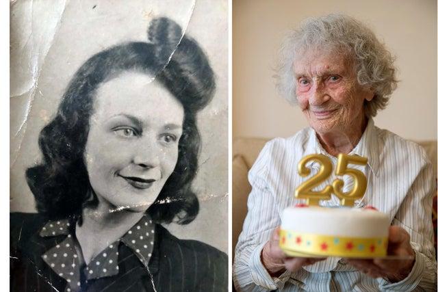 В Великобритании 100-летняя бабушка празднует 25-й день рождения