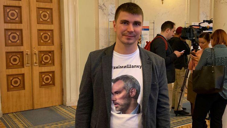 В Киеве совершено нападение на депутата Верховной Рады Антона Полякова