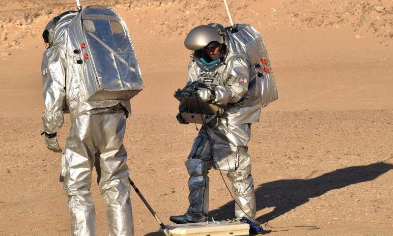 Ученые разработали детектор для поиска воды на Марсе