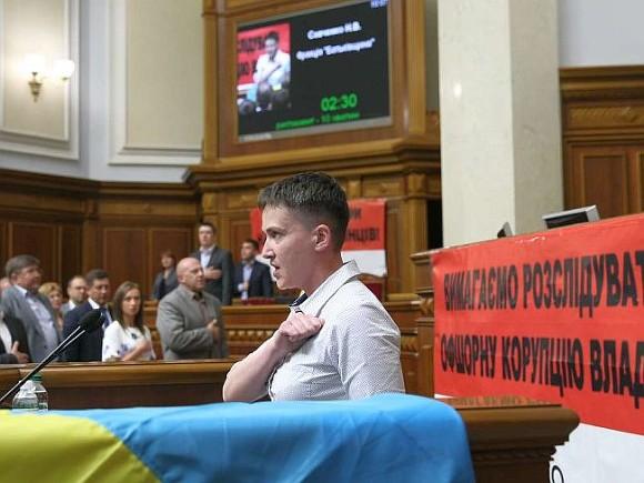 Савченко готова идти в президенты Украины
