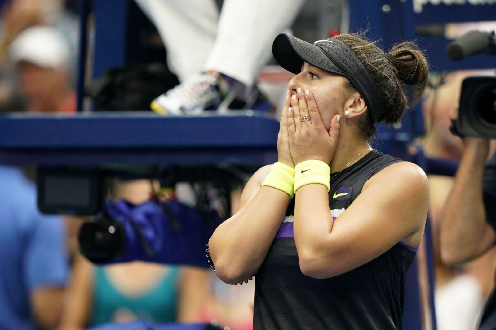 Бьянка Андрееску обыграла Серену Уильямс в финале US Open