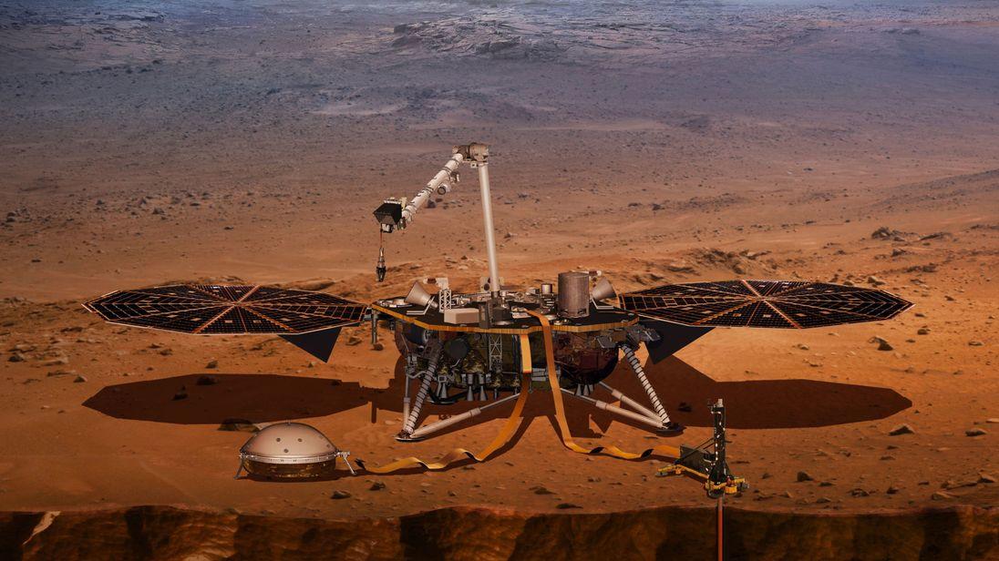 Марсианские раскопки. Что будет искать аппарат InSight в недрах Красной...