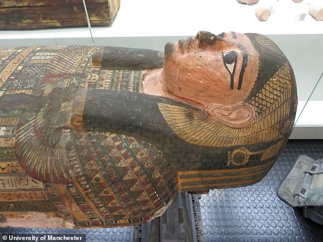 саркофаг, мумия