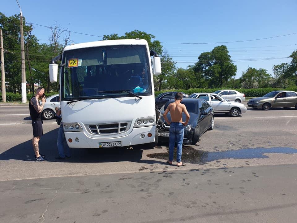В Одессе попала в ДТП дочь Анатолия Гриценко