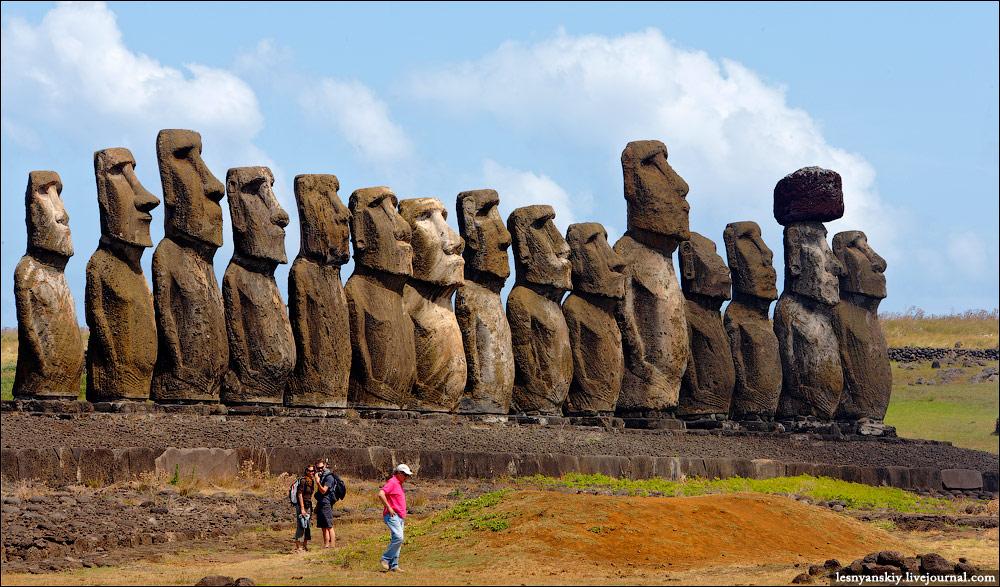 Ученые объяснили предназначение загадочных статуй на острове Пасхи