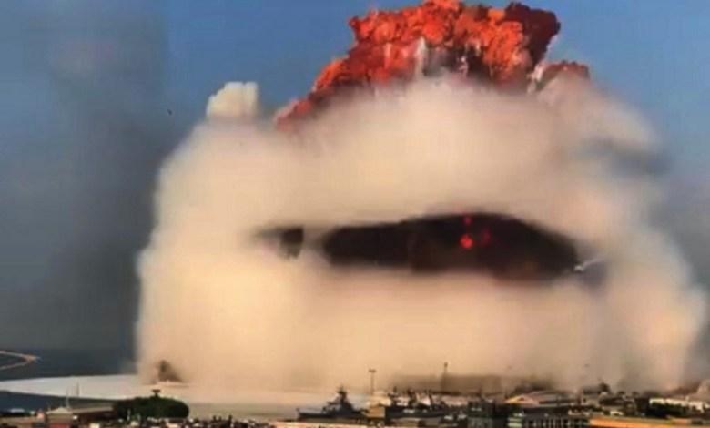 1/10 Хиросимы – измерена сила взрыва в Бейруте