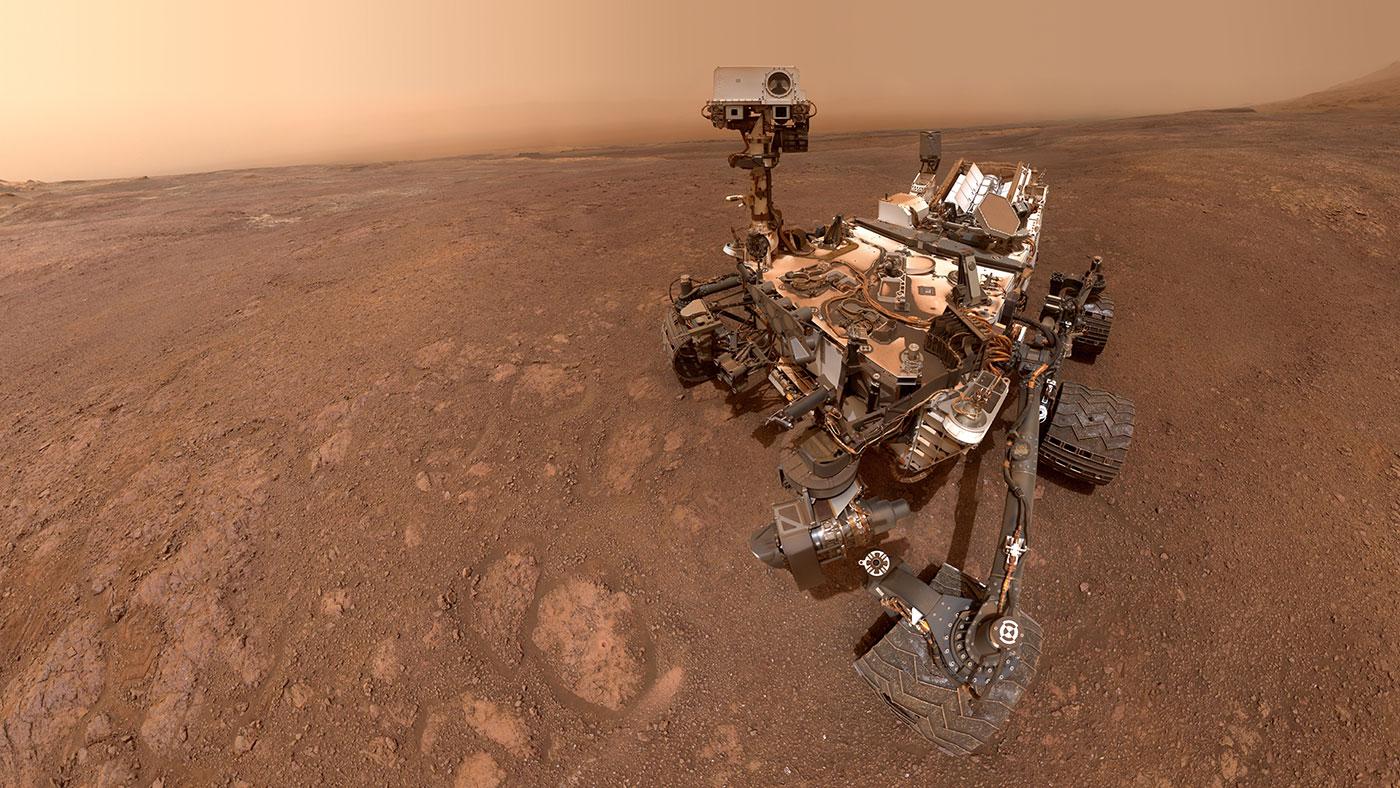 Ровер Curiosity нашел новое доказательство того, что на Марсе была вода