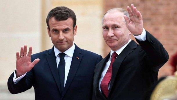 Путин и Макрон по телефону обсудили обмен пленными между РФ и Украиной