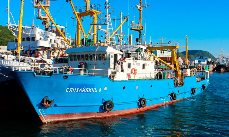 КНДР отпустила задержанный рыболовецкий траулер РФ