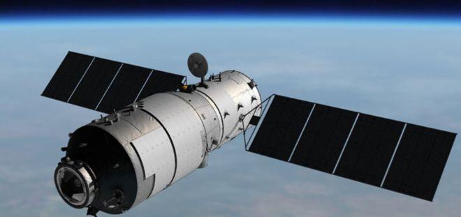 Китайская космическая станция упадет на Землю в понедельник
