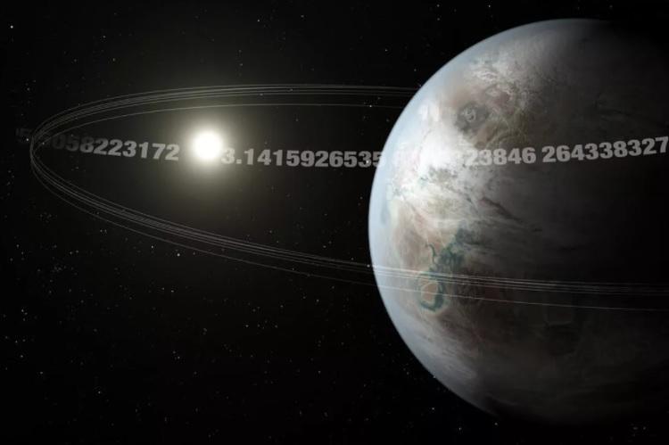 """""""Планета Пи"""" размером с Землю совершает 3,14-дневную орбиту вокруг звезд..."""