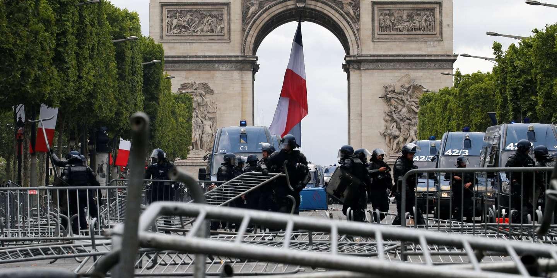 В День взятия Бастилии в Париже задержано 175 человек