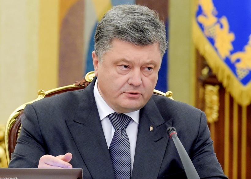 Украина введет санкции против олигархов РФ, – Порошенко