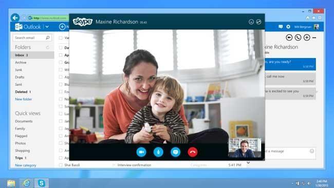 Skype во время видеозвонков научился скрывать задний фон