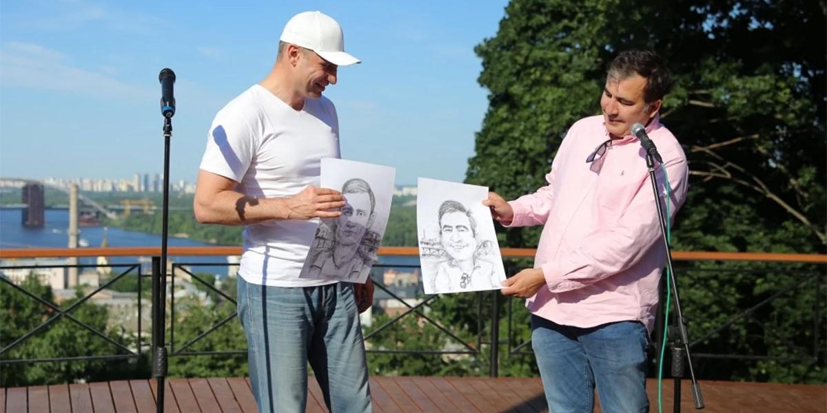 Кличко с изменившимся лицом бежит в Раду. Почему Саакашвили получил пред...