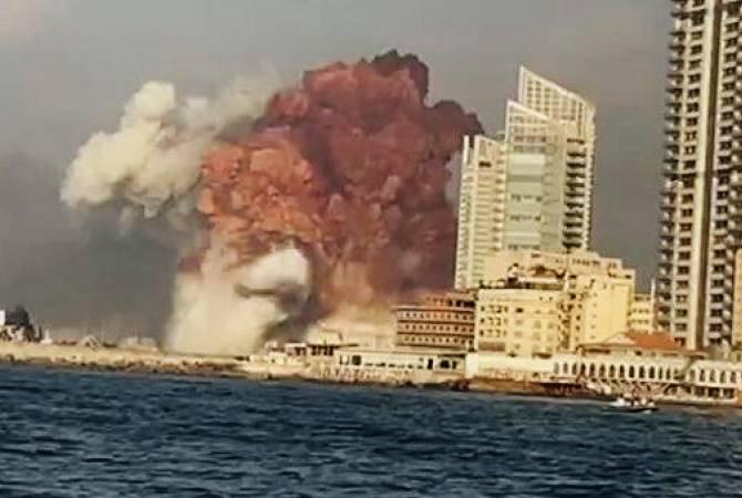 Раненых из Бейрута везут в пригороды