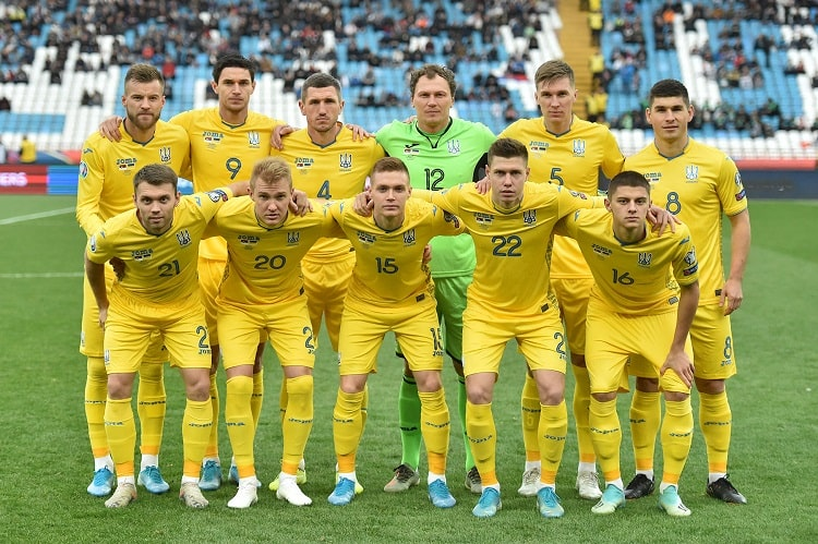 Сборная Украины по футболу сохранила 24 место рейтинга ФИФА
