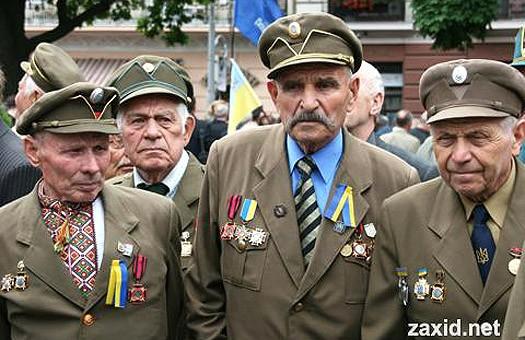 Регионалы Тернополя  повысили  пенсии ветеранам ОУН-УПА