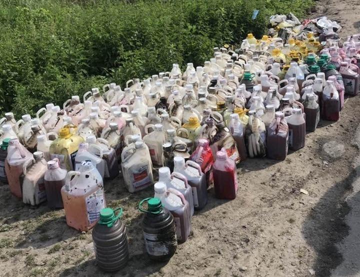 В ГСЧС уверяют, что ситуация с загрязнением реки Рось химикатами находит...