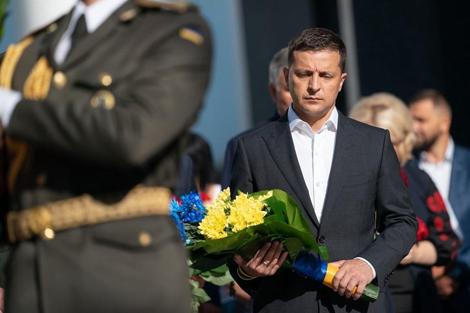 Зеленский в Польше почтил память погибших во Второй мировой войне