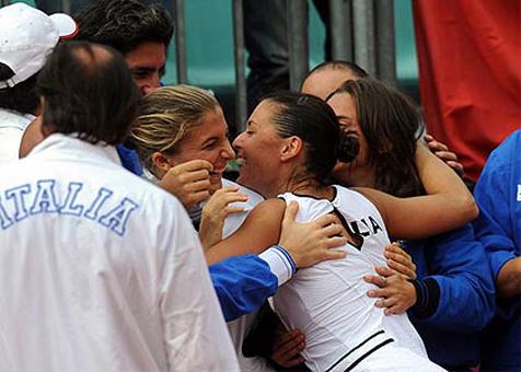 Теннис: сборная Италии выиграла Кубок Федерации