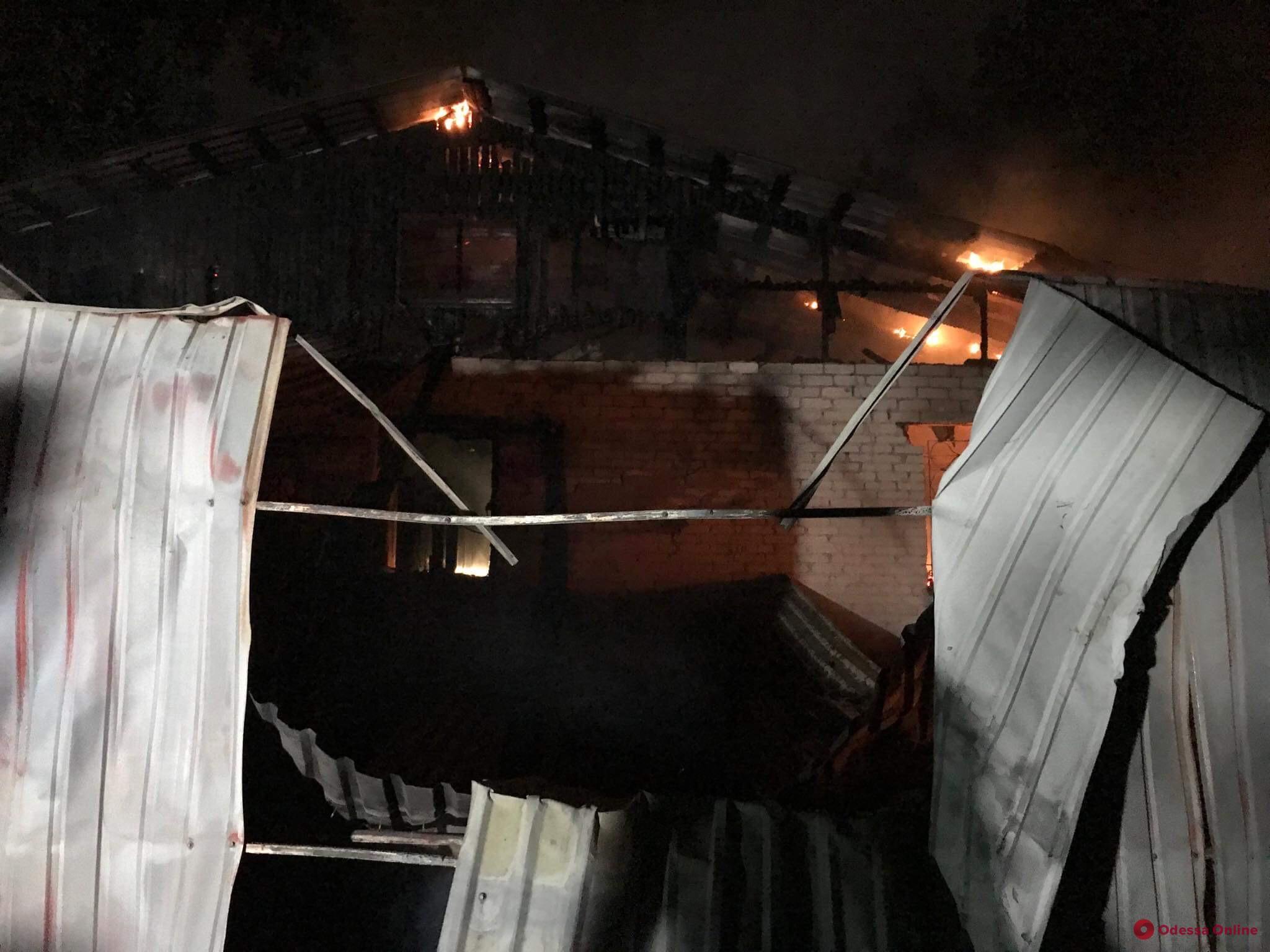 Полиция начала расследование по факту пожара в Одессе