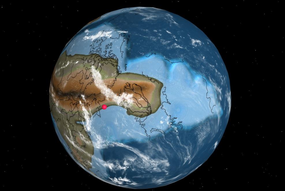 Ученые создали карту показывающую, где были бы современные города 750 мл...