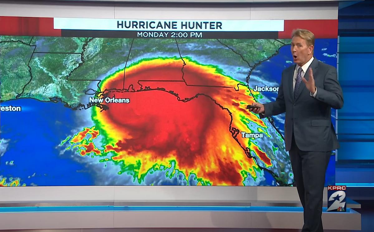 "Америка готовится принять удар урагана ""Салли"""