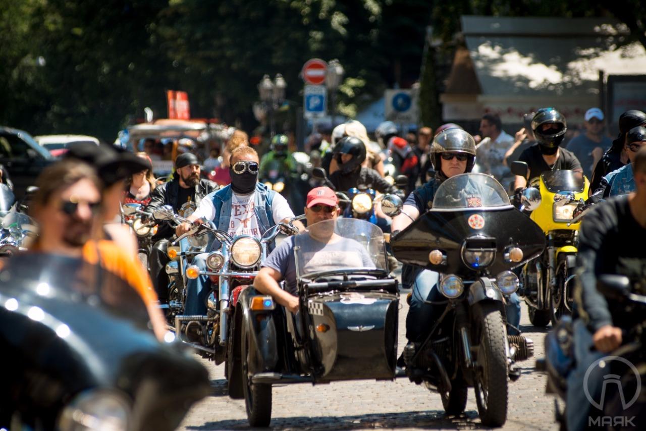 Международный слет байкеров в Киеве будут охранять 6 тыс. правоохранител...
