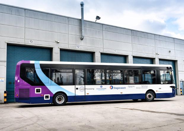 В Манчестере тестируют полноразмерный беспилотный автобус