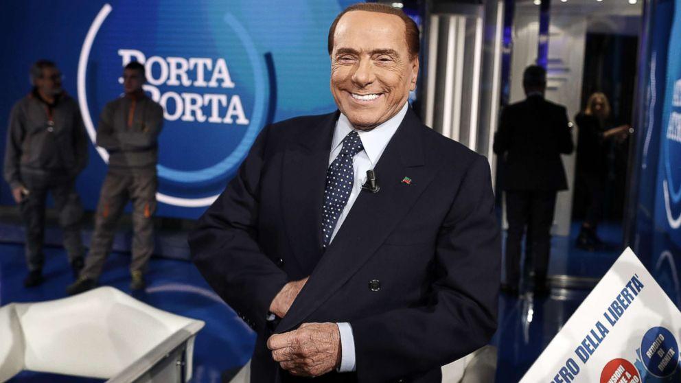 83-летний Берлускони заразился коронавирусом. В Кремле пообещали помощь...