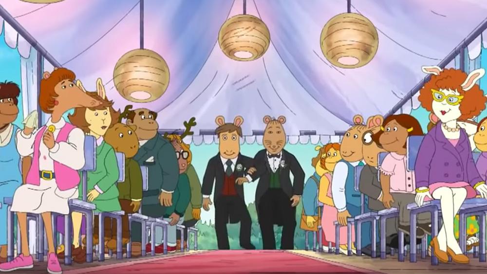 Эпизод с ЛГБТ– свадьбой вырезали из мультсериала в США