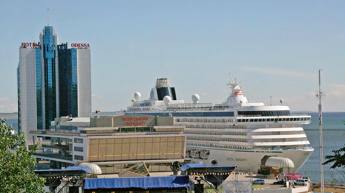 Одесский Морвокзал строили по образу пассажирского лайнера