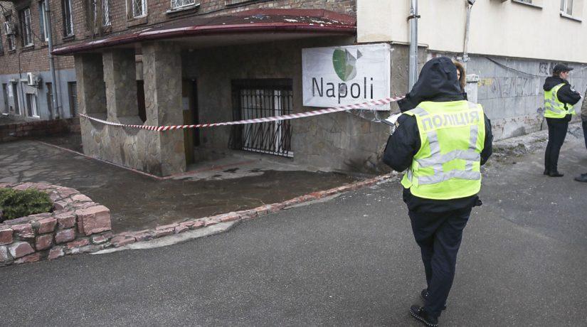 Граната у входа в киевский магазин оказалась муляжом